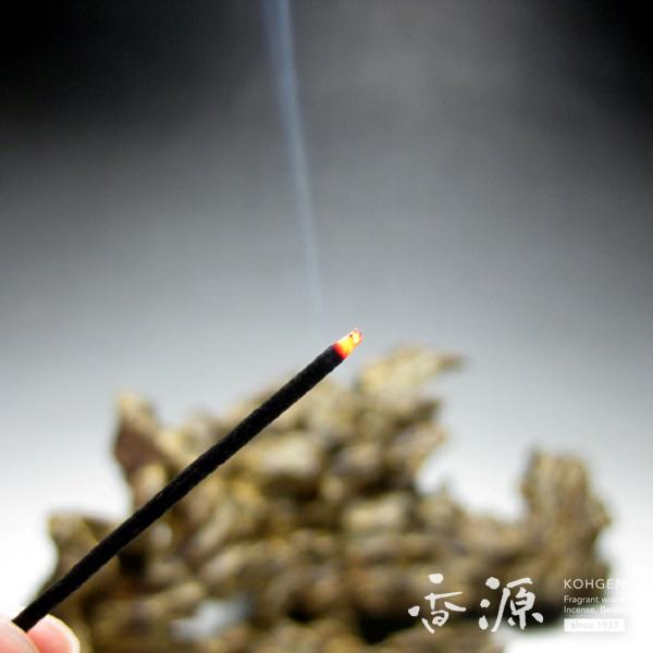 誠寿堂 お線香 極品伽羅延寿 燃焼イメージ