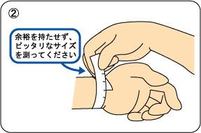 オーダーメイドの手順 ブレスレット・腕輪の場合2