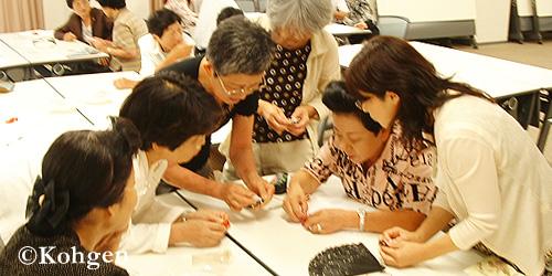 中日文化センターお香講座