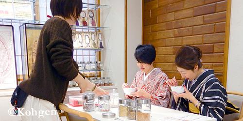 上野桜木店お香講座
