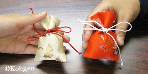 匂い袋の手作り