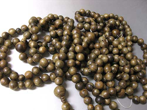 沈香 片手の数珠