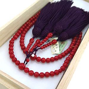 古渡珊瑚女性用数珠4