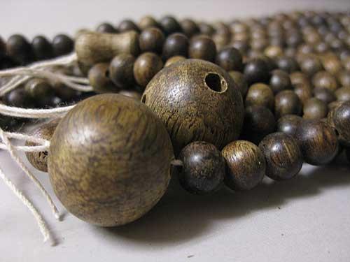 沈香 三双法華の数珠