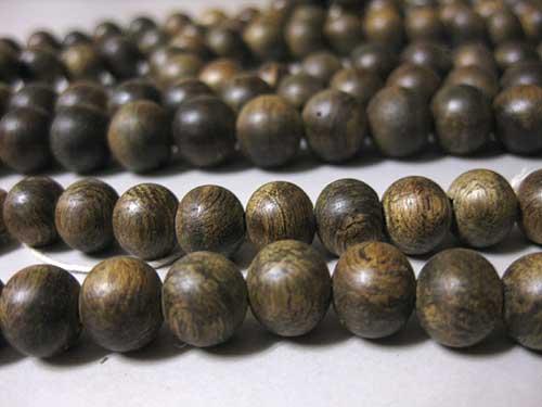沈香 尺八装束の数珠
